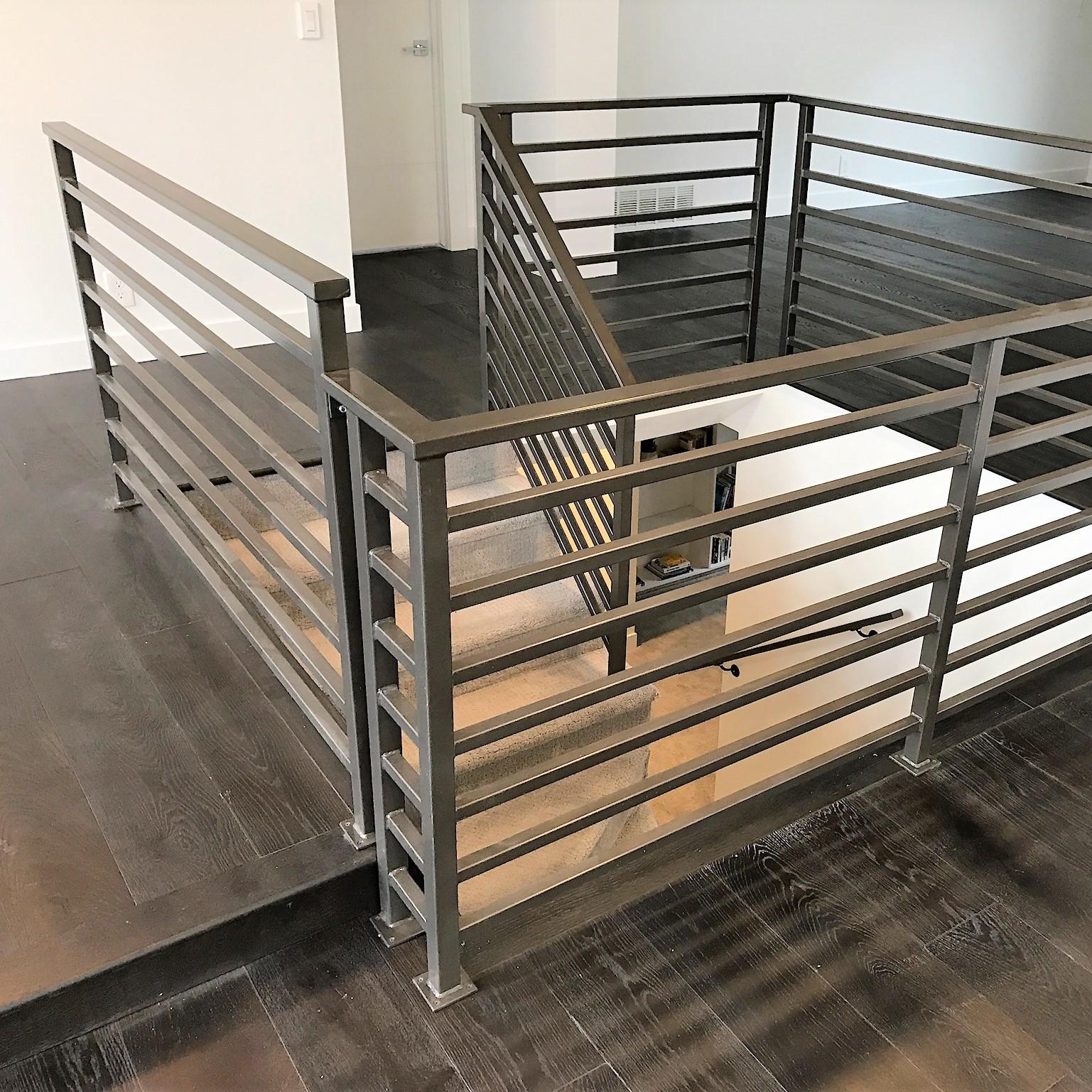 Interior Metal Railing Aspen Metals
